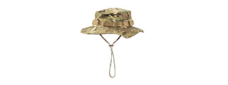 M2619C COTTON HYBRID TACTICAL VENTILATED BOONIE HAT (CAMO)