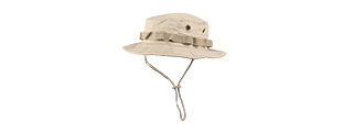 M2619T COTTON HYBRID TACTICAL VENTILATED BOONIE HAT (TAN)