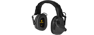 M31-BK HEARING PROTECTION HEADSET W/ AUX INPUT (BLACK)