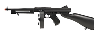 M811 DOUBLE EAGLE M1A1 AEG AIRSOFT TOMMY GUN RIFLE (BLACK)