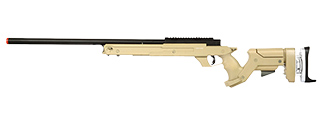 MB05T WELL SR22 BOLT ACTION TYPE 22 SNIPER RIFLE (TAN)