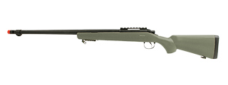 UK ARMS AIRSOFT VSR-10 BOLT ACTION SNIPER RIFLE - OD GREEN