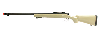 MB07T WELL VSR-10 BOLT ACTION AIRSOFT SNIPER RIFLE (TAN)