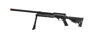 WELL SPEC-OPS MB13A APS SR-2 BOLT ACTION SNIPER RIFLE W/ BIPOD (BK)