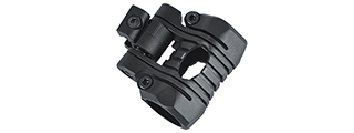 OT0424B 5-POSITION FLASHLIGHT RAIL MOUNT (BLACK)