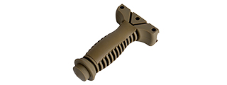 OT0808T ELEMENT CQB TACTICAL AIRSOFT 20MM FOREGRIP - DARK EARTH