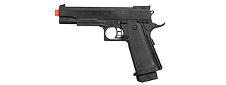 P2001BAG SPRING POWERED 1911 POLYMER PISTOL IN POLY BAG (BLACK)