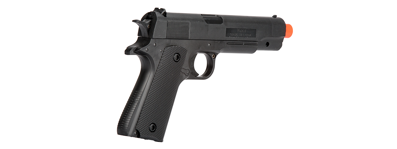 P2003BAG SPRING STANDARD 1911 POLYMER PISTOL IN POLY BAG (BLACK)