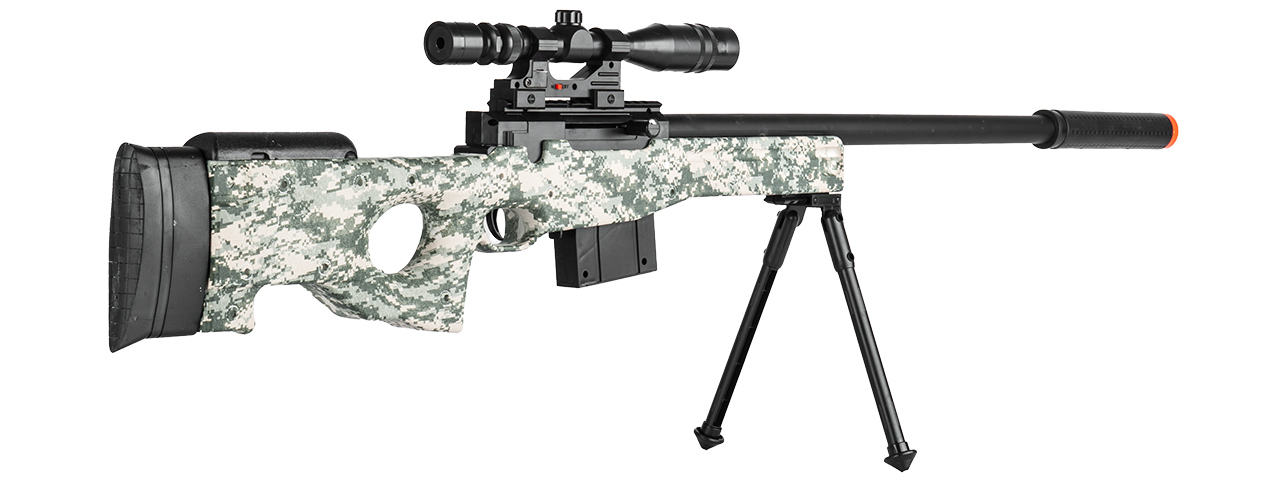 P2703A SPRING RIFLE w/ SCOPE (GREEN DIGITAL)