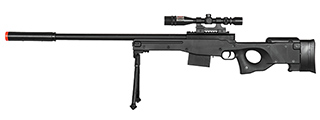P2703B SPRING RIFLE w/ SCOPE (BLACK)