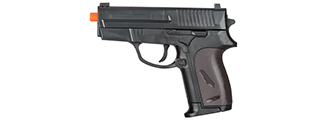 P618BAG SPRING-LOADED PISTOL (BLACK)