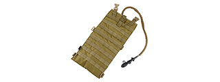 T0103-T EG STYLE 2 LITER HYDRATION POUCH (TAN)