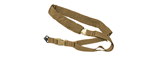 T0251-K D-S SINGLE POINT SLING (KHAKI)