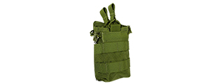 T0591-G SINGLE OPEN TOP MAGAZINE POUCH (OD GREEN)