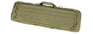 AMA AIRSOFT TACTICAL DOUBLE 38-INCH RIFLE CASE - KHAKI