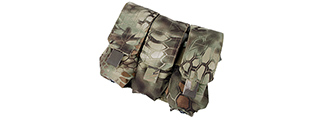T1341-MD TRIPLE M4 MAG POUCH (MAD)
