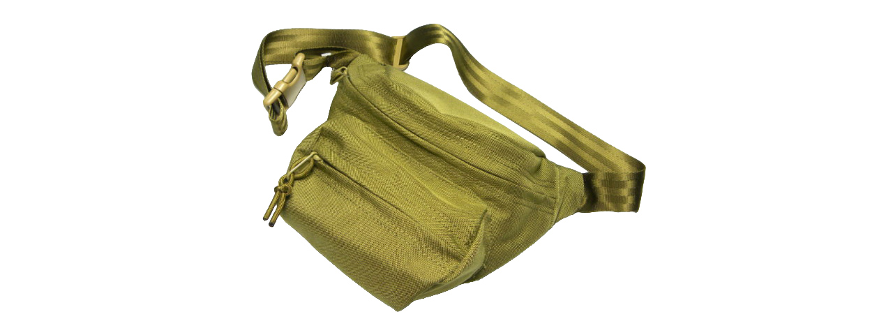 T1364-K CORDURA LOW PITCHED WAIST PACK (KHAKI)