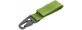 AMA AIRSOFT HOOK AND LOOP SHACKLE - OD GREEN