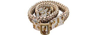 T1605-DD PARACORD SURVIVAL BRACELET (DESERT DIGITAL)