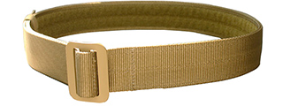 T1607-K-L ENHANCED OPERATOR GUN BELT (KHAKI), LRG