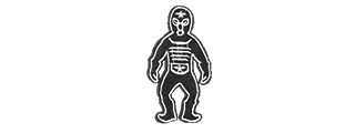 T1723 ULTRAMAN MONSTERS VELCRO PATCH