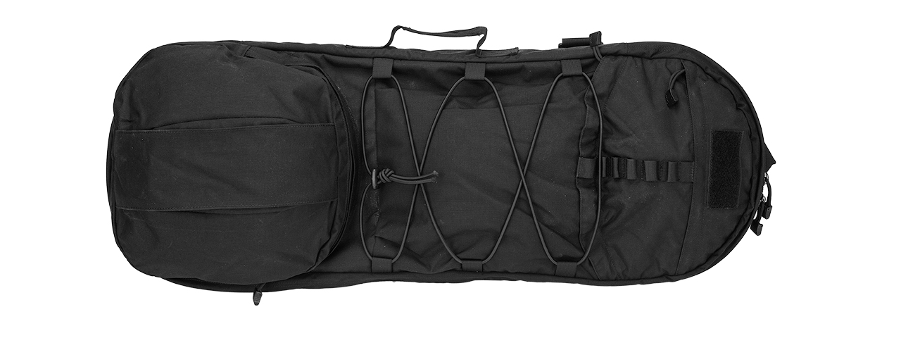 T1929-B SKATE 8 TACTICAL AIRSOFT RIFLE CASE (BLACK)