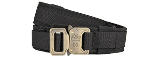 T1939-BK-M HARD 1.5 INCH SHOOTER BELT - MED (BLACK)