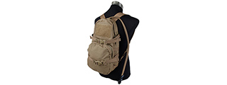 T2089-CB MODULAR ASSAULT PACK W/ 3L HYDRATION BAG (KHAKI)