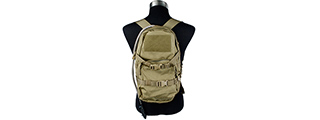 T2089-K MODULAR ASSAULT PACK W/ 3L HYDRATION BAG (KHAKI)