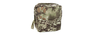T2162-MD NYLON SQUARE MOLLE CANTEEN POUCH (MAD)