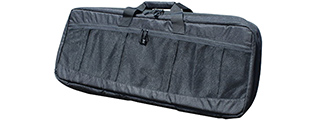 AMA COVERT 36-INCH CARBINE MESH CARRYING CASE W/ RUCK STRAPS - BLACK