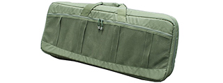 AMA COVERT 36-IN CARBINE CARRYING CASE W/ RUCK STRAPS - OLIVE DRAB GREEN