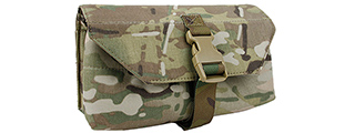 AMA 500D NYLON TACTICAL MOLLE ADMIN POUCH FOR GPNVG18 - CAMOUFLAGE