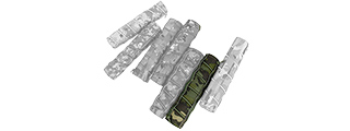 T2353-MT 22CM AIRSOFT SUPPRESSOR COVER (CAMO TROPIC)