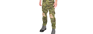 T2359MT-M BDU PANTS W/ KNEEPADS MEDIUM (TROPIC CAMO)