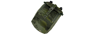 AMA AIRSOFT COMPACT 500D NYLON 973 TACTICAL POUCH - CAMO TROPIC