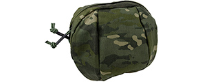 T2397-MT BILLOWED UTILITY POUCH (CAMO TROPIC)