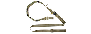 AMA AIRSOFT DEVGRU PARACORD NYLON SLING - WOOD DIGITAL