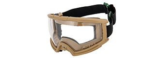 2605T AIRSOFT FULL SEAL TACTICAL PROTECTIVE GOGGLES (TAN)