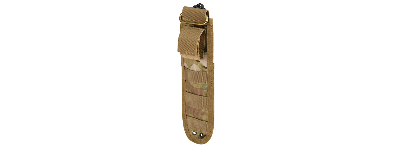 2620t Rubber Training Bayonet Knife W Sheath Holster Tan