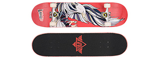 "3108-T031R GALLANT EAGLE RED COMPLETE SKATEBOARD (8.0"" X 31"")"