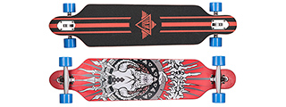 L-SPORT DEMON RED COMPLETE LONGBOARD (DEMON RED DESIGN)