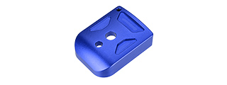 5KU-GB260-BU ALUMINUM HI-CAPA MAG BASE COVER - TYPE 1 (BLUE)