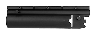 AC-1051 X203 9-INCH METAL AIROSFT RIFLE GRENADE LAUNCHER (BLACK)
