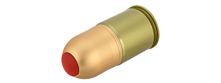 AC-1438 UNICORN 40MM AIRSOFT GAS GRENADE SHELL (GREEN/BRONZE)