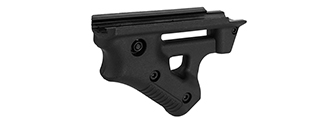 AC-1689 POLYMER ANGLED TACTICAL STRIKER FOREGRIP (BLACK)