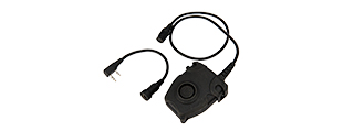 AC-201G PELTOR PUSH-TO-TALK FOR KENWOOD VERSION (BLACK)