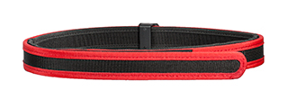 AC-402RL COMPETITION SPECIAL BELT (COLOR: BLACK & RED) SIZE: LARGE