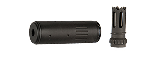 AC-403B ACC BARREL EXTENSION w/FLASH HIDER (COLOR: BLACK)