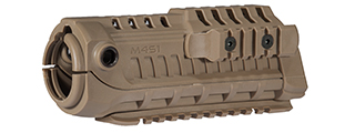 AC-418T M4S1 TACTICAL HAND GUARD (COLOR: DARK EARTH)